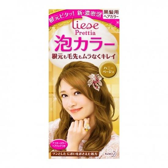 ครีมย้อมผม Liese Bubble Hair Color